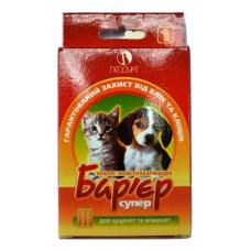 Бар'єр супер - краплі для цуценят та кошенят