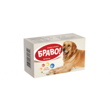 """Вітаміни """"Браво"""" для собак великих порід - 100 таб."""