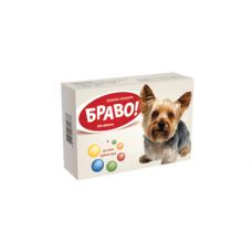 """Вітаміни """"Браво"""" для собак дрібних порід - 300 таб."""