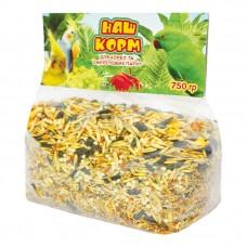 Наш корм для корел та ожерелових папуг - 750 г