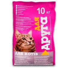 Сухий корм Для друга для котів (риба) - 10 кг
